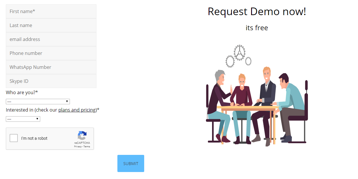 How to request a demo account?
